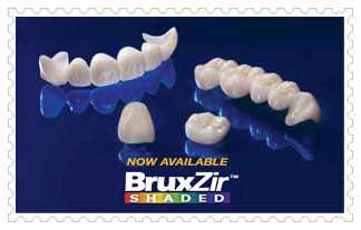 BruxZir Solid Zirconia Crowns & ฺBridges